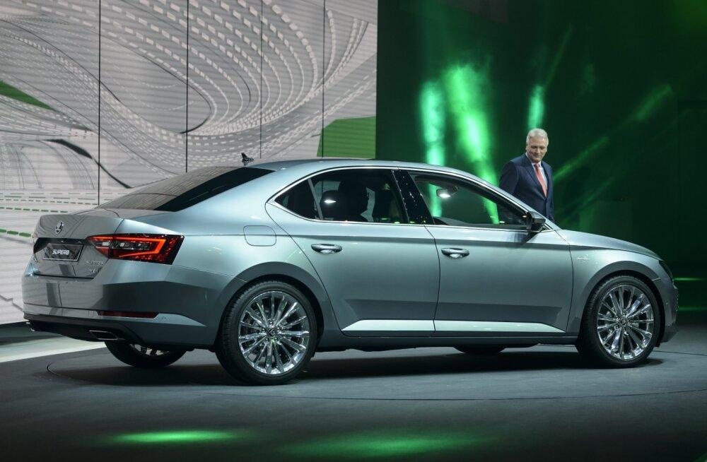 Jälle Škoda! Eesti aasta autoks 2016 valiti Superb