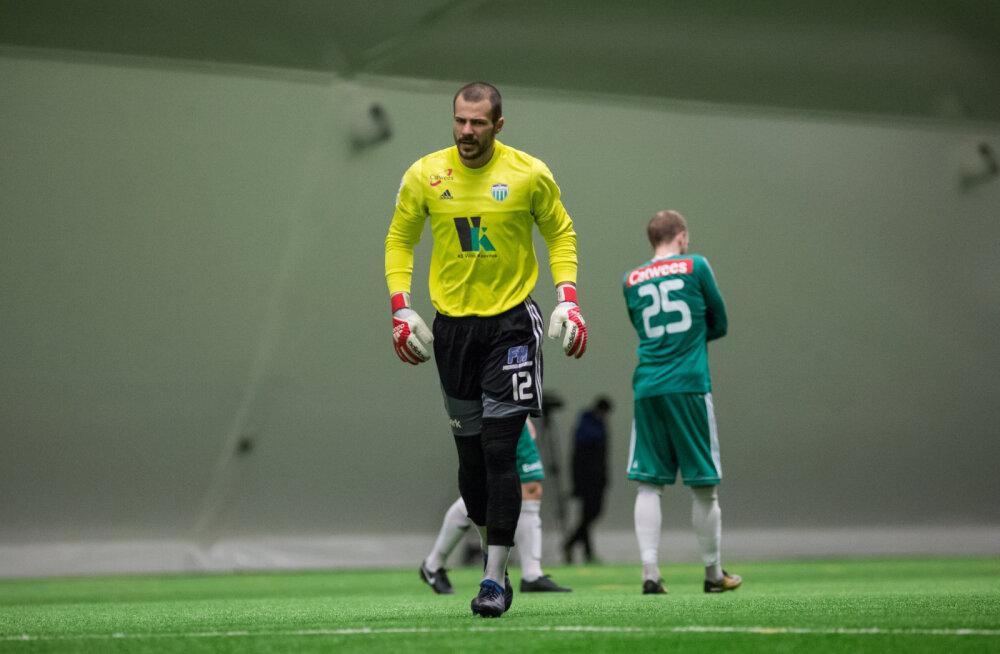 FCI Levadia väravavaht Sergei Lepmets