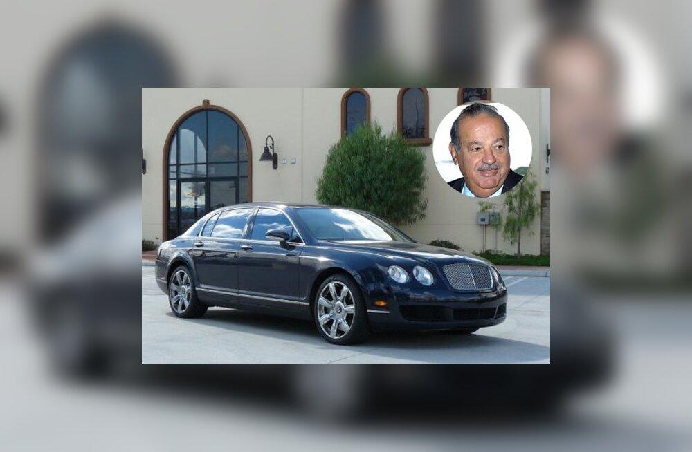 Autod, millega sõidavad maailma rikkaimad inimesed