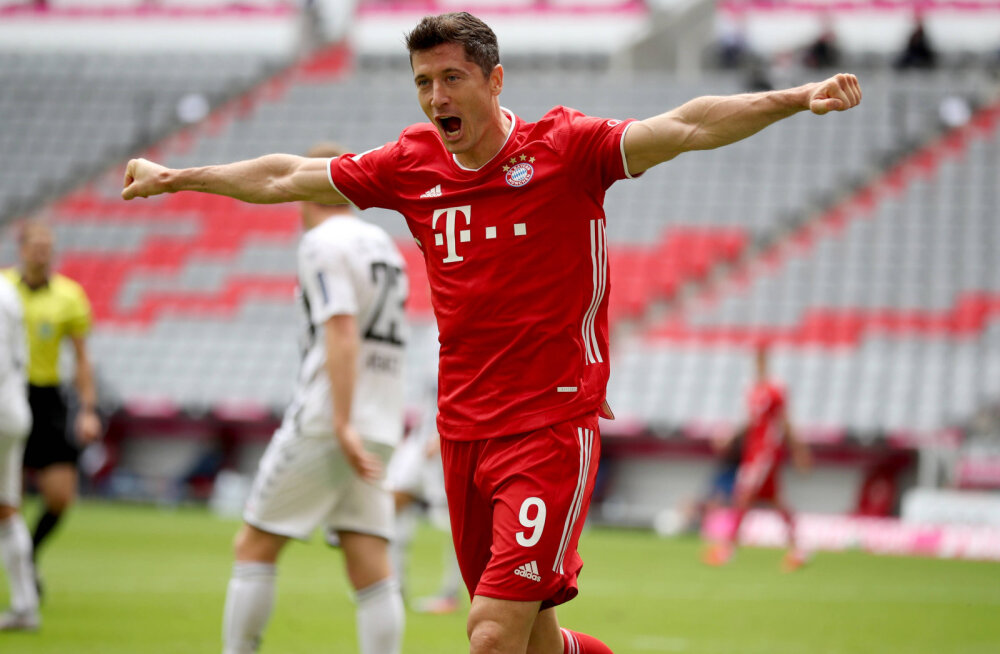 Lewandowski sai enda nimele uhke rekordi
