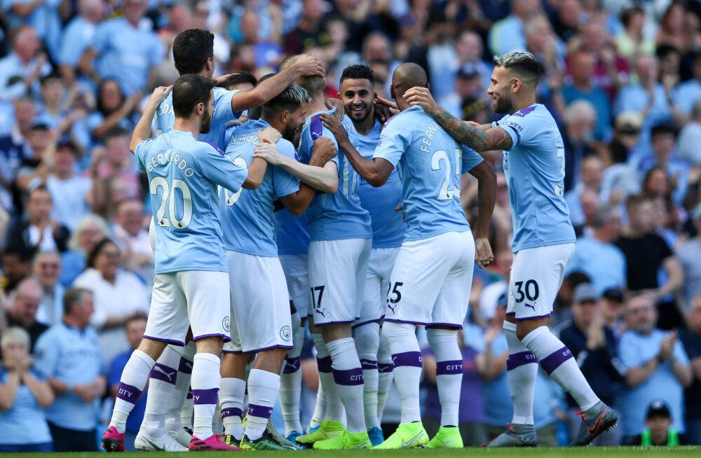 Pöörane väravapidu: Manchester City püstitas Premier League'i rekordi ning lömastas Watfordi