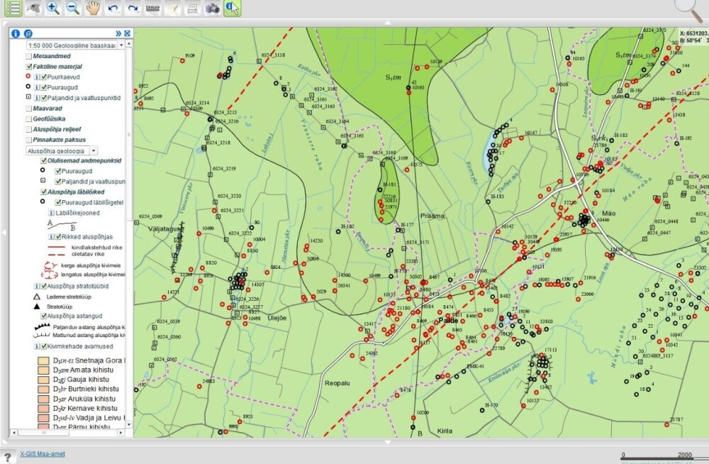 Mis on Eesti geoloogiline baaskaart ja kuidas seda täiendatakse?