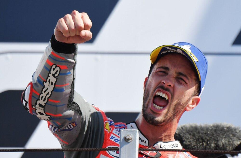MotoGP San Marino etapi võitis Andrea Dovizioso