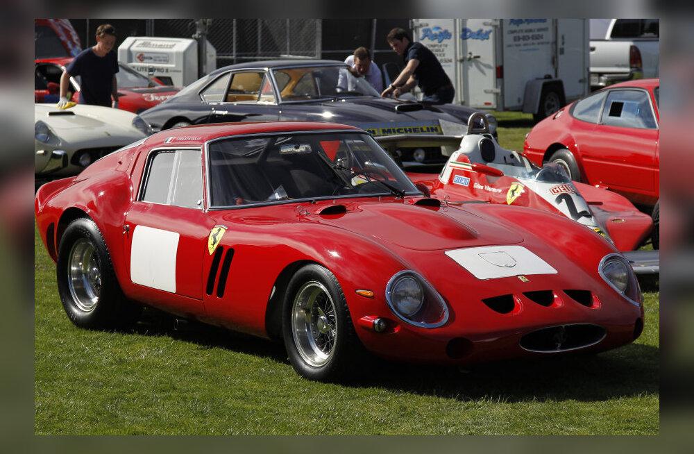 1962. aasta Ferrari 250 GTO müüdi 34 miljoni dollari eest.