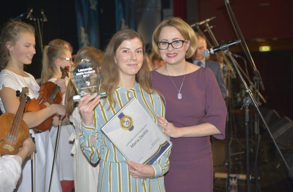 Почетными жителем и деятелем Ласнамяэ стали Мария Дерлыш и Роальд Йоханнсон