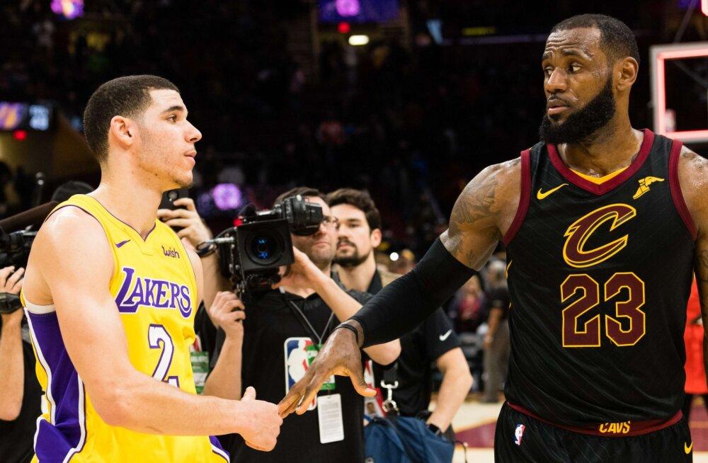 Miks valis LeBron James just Lakersi? Kolm põhjust, miks maailma parim mängija klubi vahetas