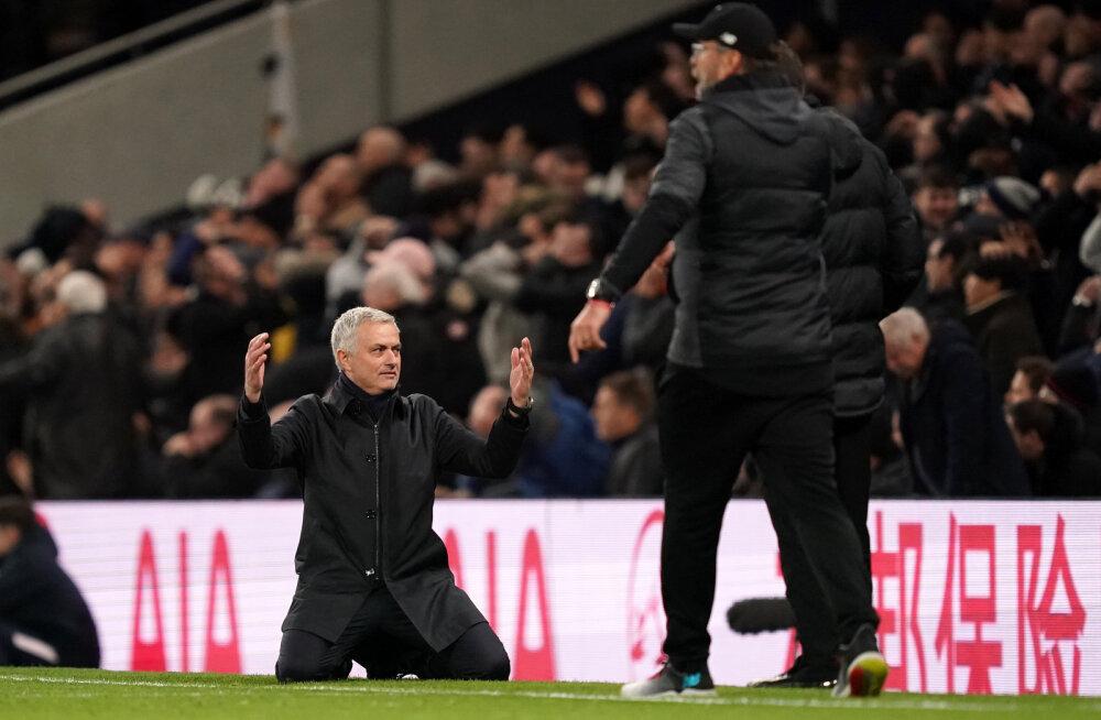 Jose Mourinho kritiseeris kohtunike tegevust: VAR jõi teed samal ajal