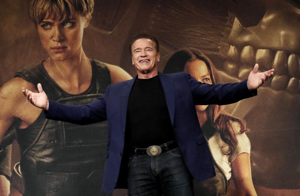 FOTO | Justkui isa koopia! Schwarzeneggeri poeg näitas vägevaid muskleid
