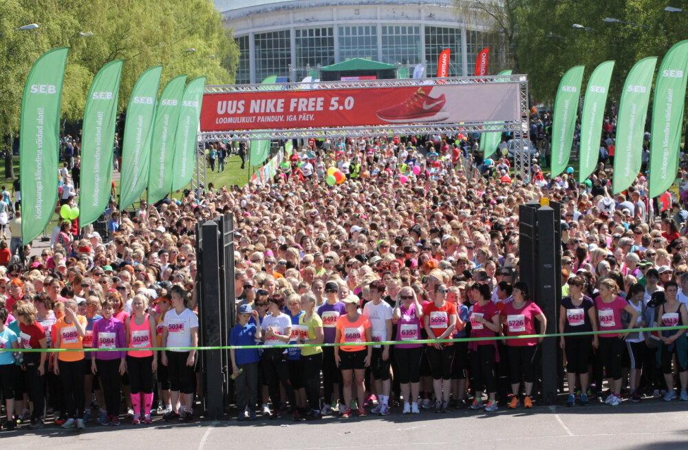 SEB Maijooks toob homme Tallinna Lauluväljakule 15 000 liikumisharrastajat