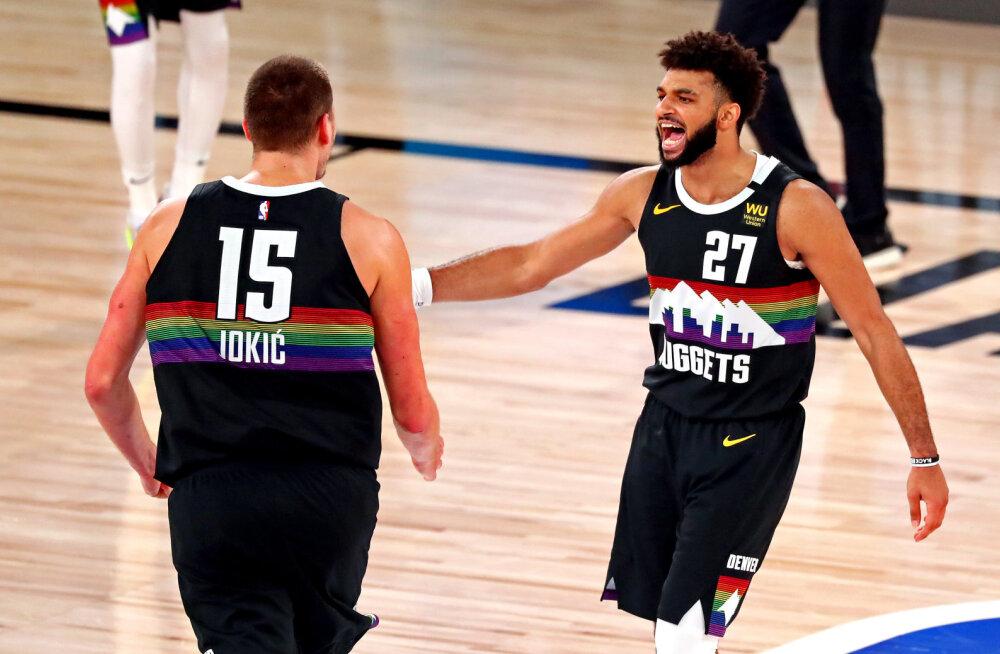 Nuggets võitis järjekordse ellujäämismängu ja viis seeria Clippersiga otsustava vaatuseni