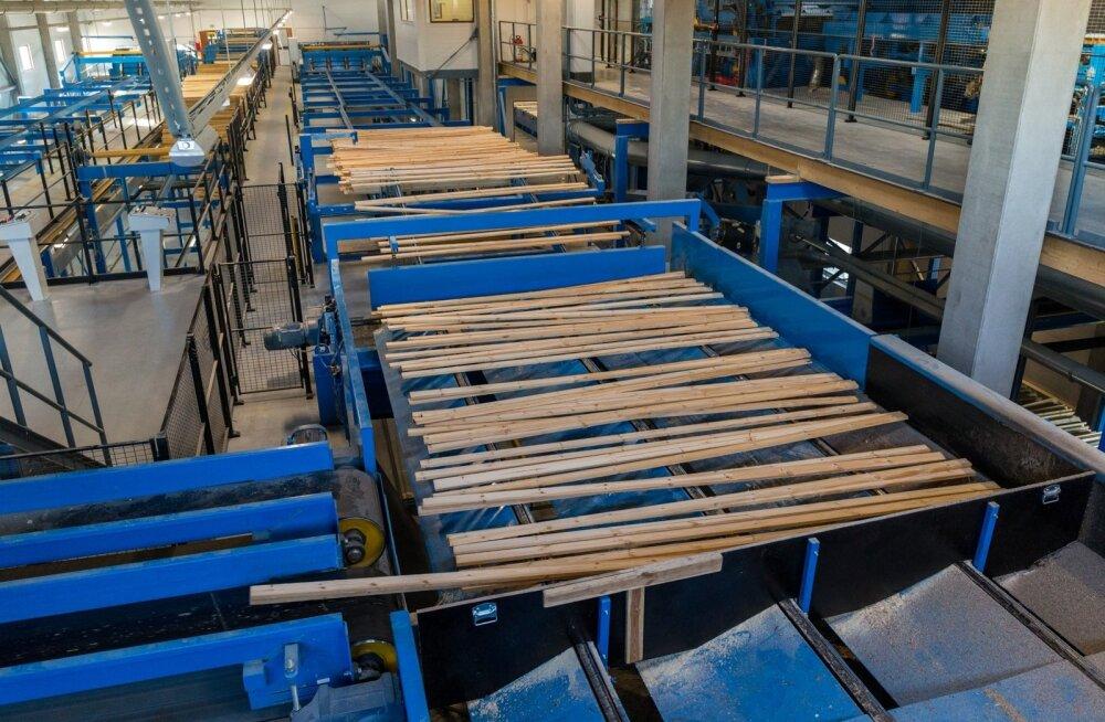 Tootjahindu mõjutas enim puidutööstus