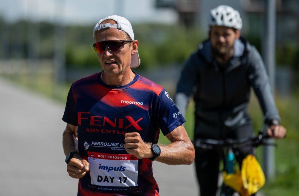 Rait Ratasepp jooksis Rocca al Mares maratoni 29.07.2020