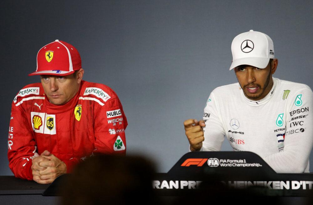 Hamilton: vormel üks hakkab Räikköneni taga igatsema