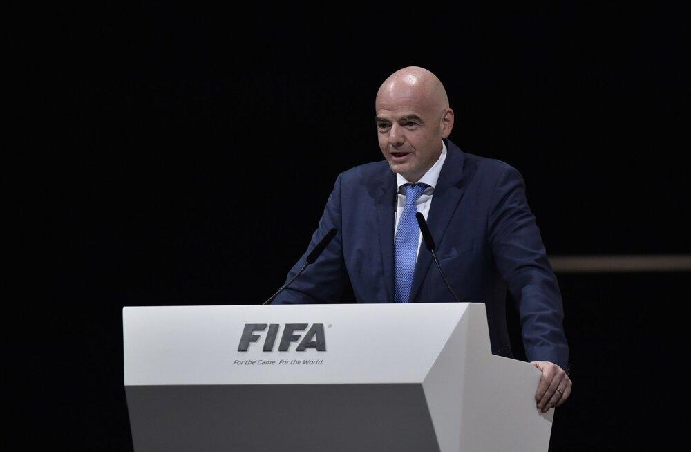 FIFA uueks presidendiks valiti Eesti poolt toetatud Gianni Infantino