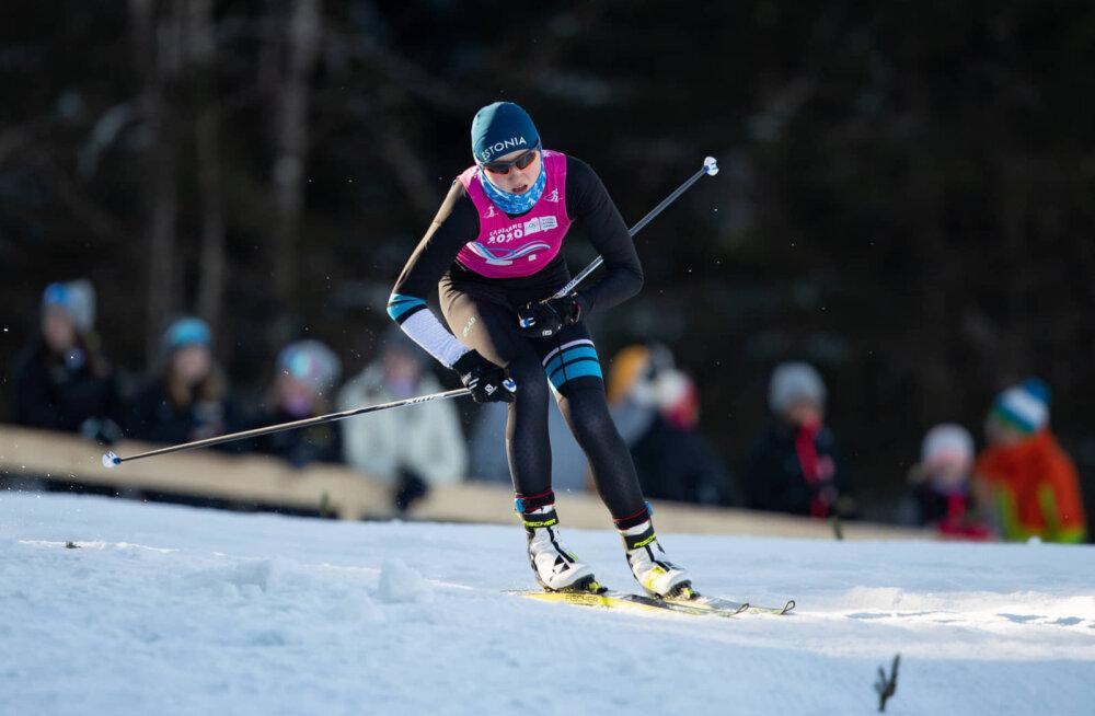 Юношеская Олимпиада: падения перечеркнули шансы эстонских лыжников