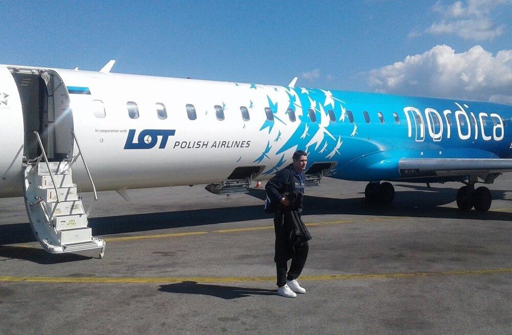 Eesti korvpallikoondis lendas MM-valikmängule tšarteriga