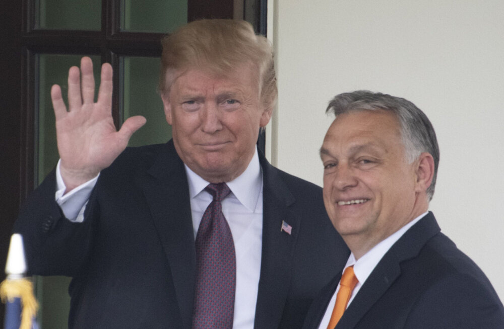 Trump ülistab Viktor Orbánit: teda hinnatakse üle Euroopa ning ta kaitseb Ungarit