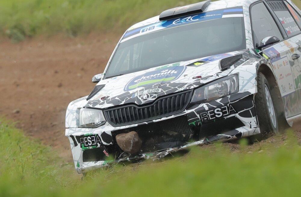 FOTOD: Rally Estonia kvalifikatsioonis leidis suurima kivi üles Tšehhi piloot