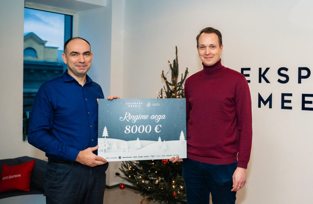 Ekspress Meedia toob vähemalt ühte Eesti peresse rahulikumad ja lootusrikkamad jõulud