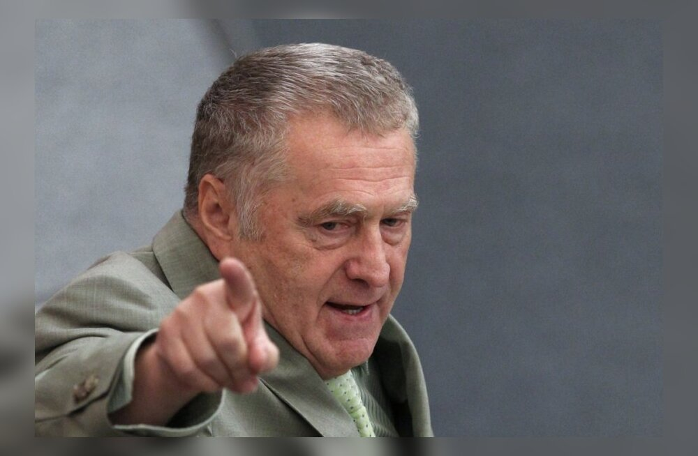 Žirinovski nõudis erivägede Tadžikistani pilooti vabastama saatmist