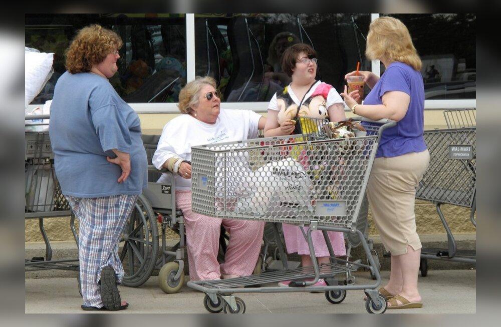 Uurimus: ülekaalulisuse probleem USA-s võib olla palju suurem kui arvatud