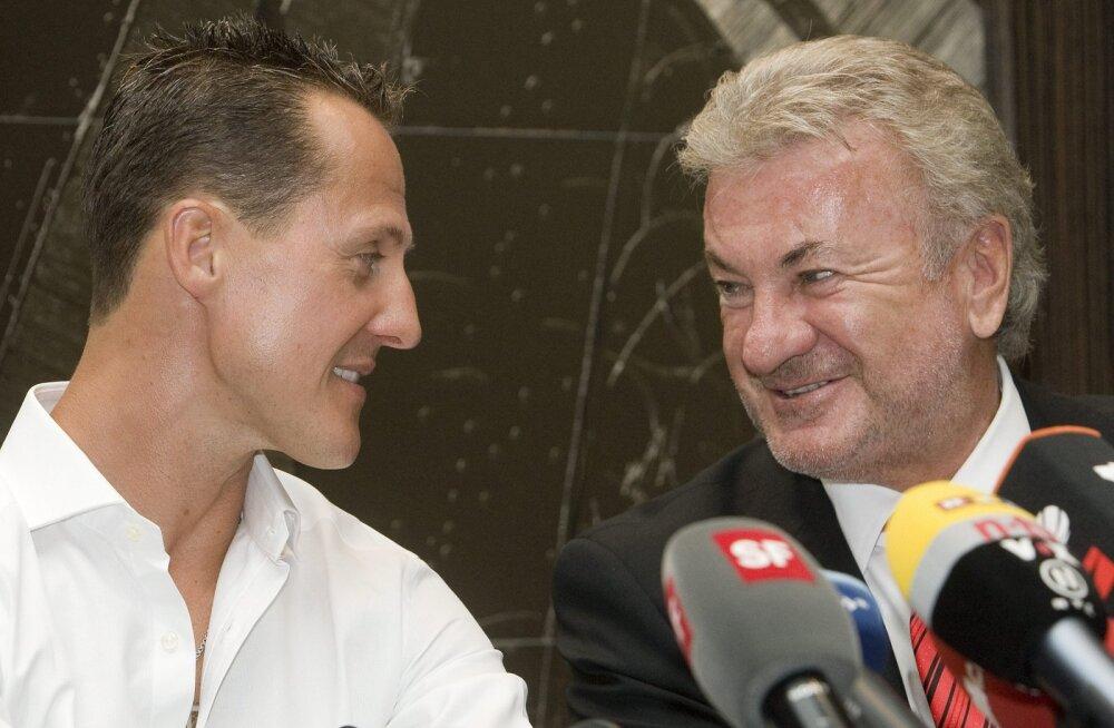 Schumacheri endine mänedžer: tahaksin Michaelit näha, aga tema abikaasa kardab mind