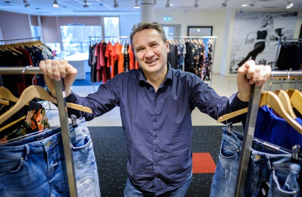 Põldma Kaubanduse AS on tänavu aasta pereettevõtte nominent. Fotol ettevõtte juhatuse liige Heinar Põldma.
