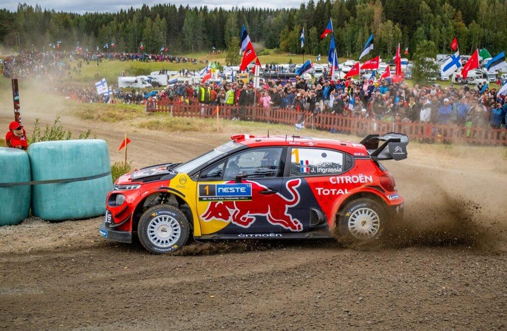 Sebastien Ogier Soome MM-rallil
