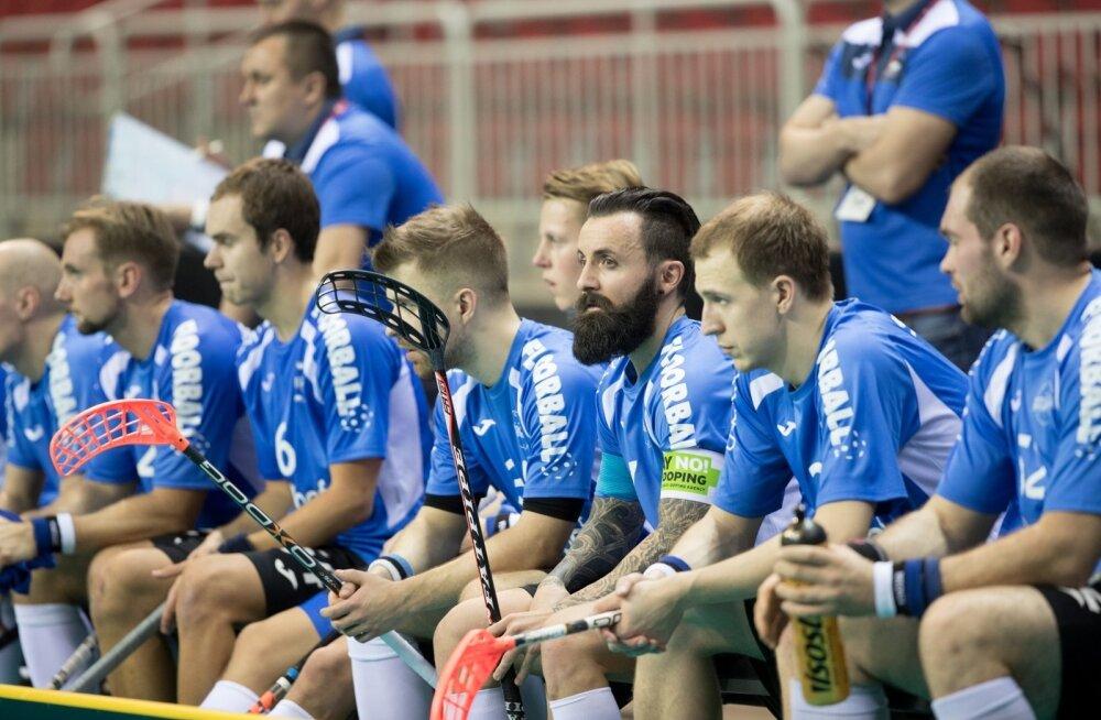 Saalihoki MM Eesti - Šveits