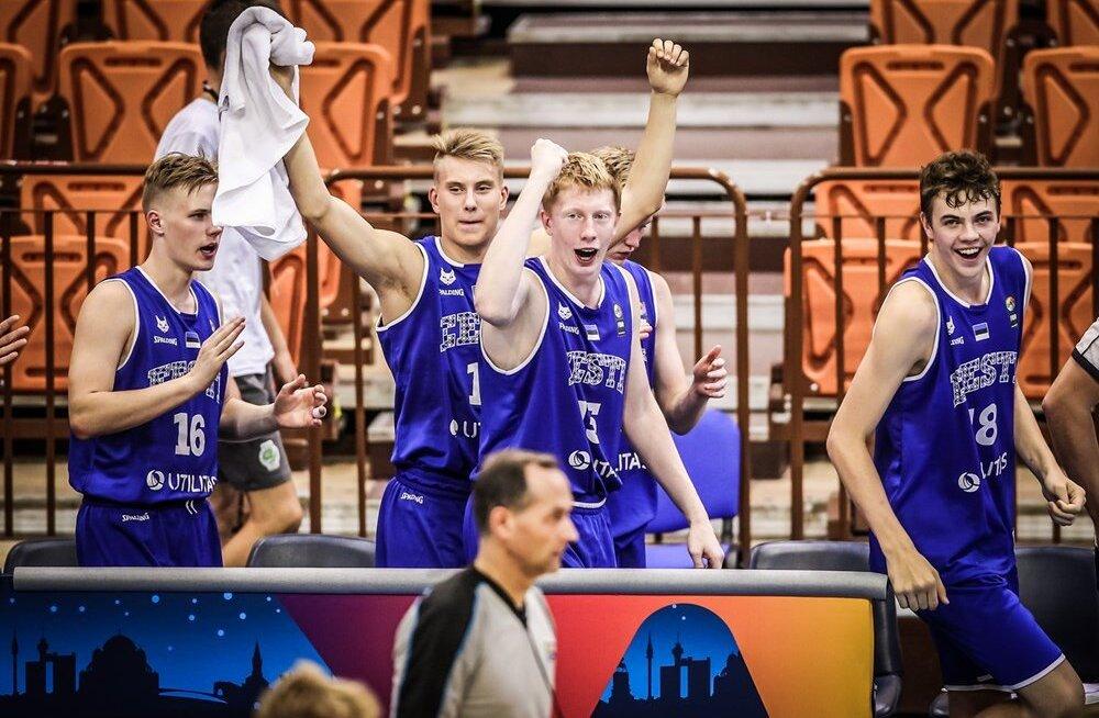 Eesti U16korvpallikoondis