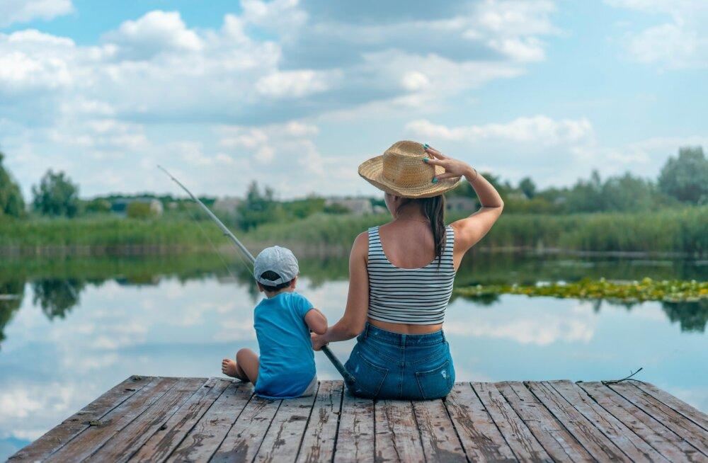 Когда мама пошла на рыбалку, или Как дети воспринимают стереотипы