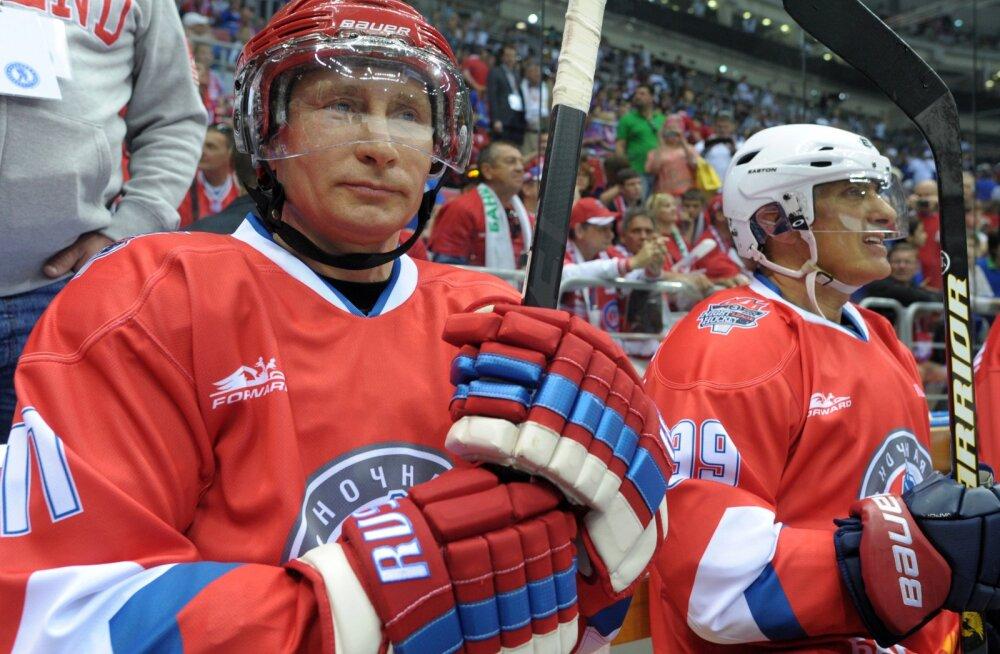 Vladimir Putin  Venemaa proffidega mängul