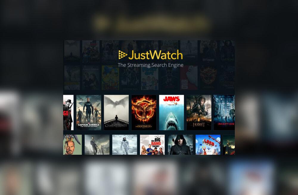JustWatch: abiks, kui soovid interneti teel filme või sarju vaadata
