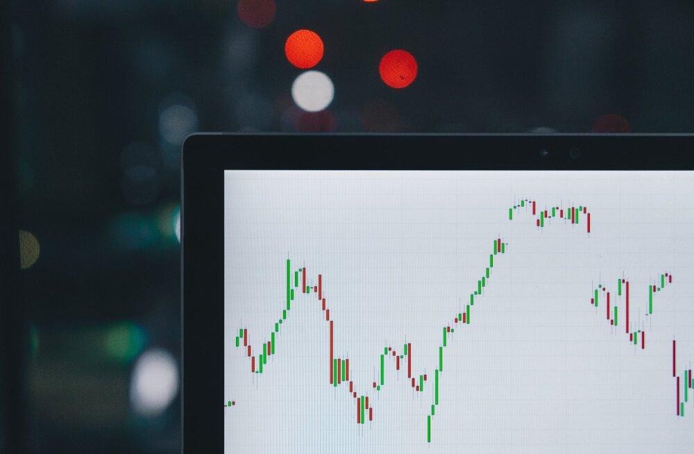 Bitcoin on langenud 2 nädalaga ligikaudu 2000 dollari võrra