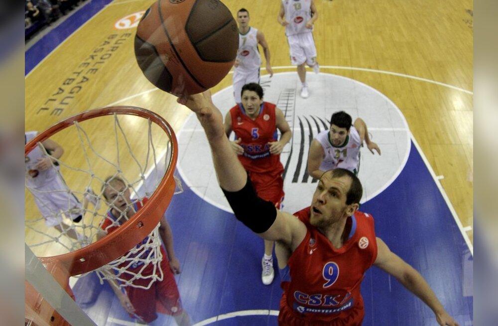 VIDEO: Moskva CSKA võitis NBA korvpalliklubi