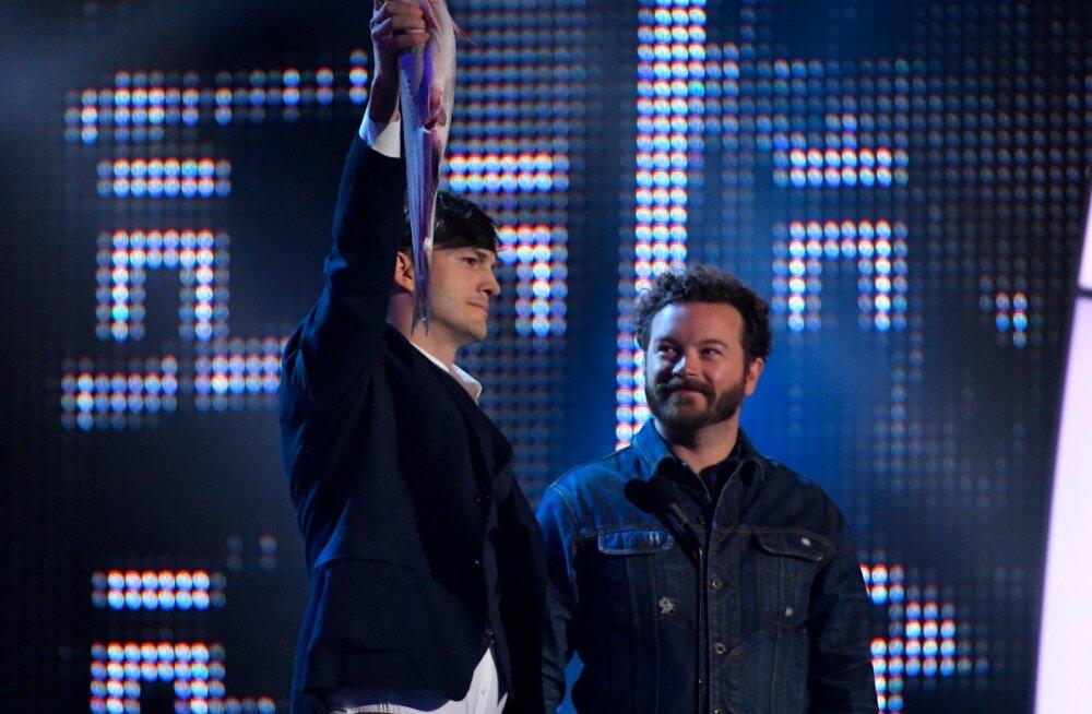 Ashton Kutcher ja Danny Masterson CMT Music Awards 2017 galal