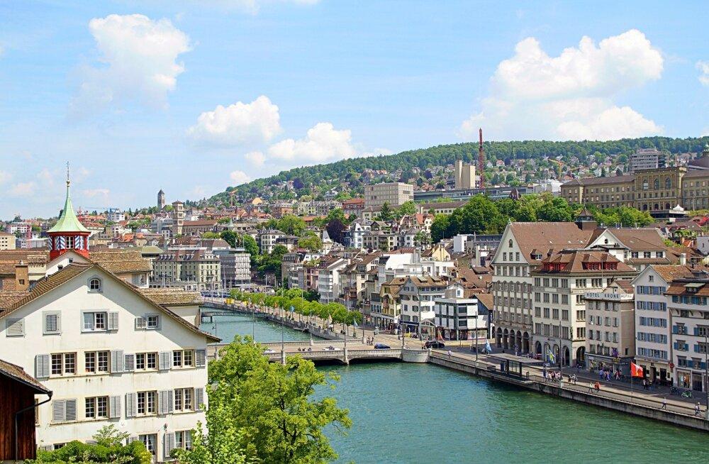 Soodsalt Šveitsi: edasi-tagasi lennud nii Genfi kui Zürichisse alates 113 eurost