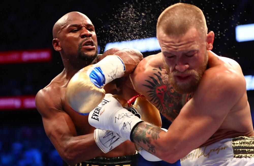 UFC boss kinnitas: Mayweatheri ja McGregori matš purustas rekordeid