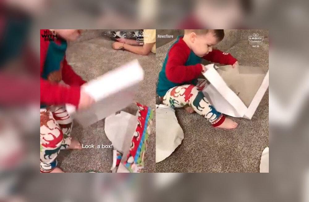 VIDEO | See imearmas video väikesest poisist tõestab, et lapsed ei vaja jõuluks suuri kinke