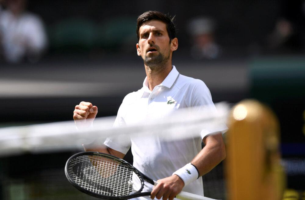 Djokovic ei lasknud end avaringis üllatada, naistest langes juba 10. asetus