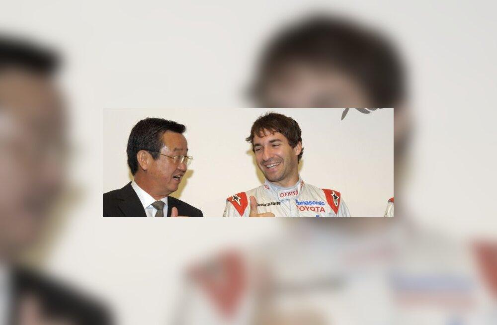 Toyota F1 tiimi boss ja Timo Glock