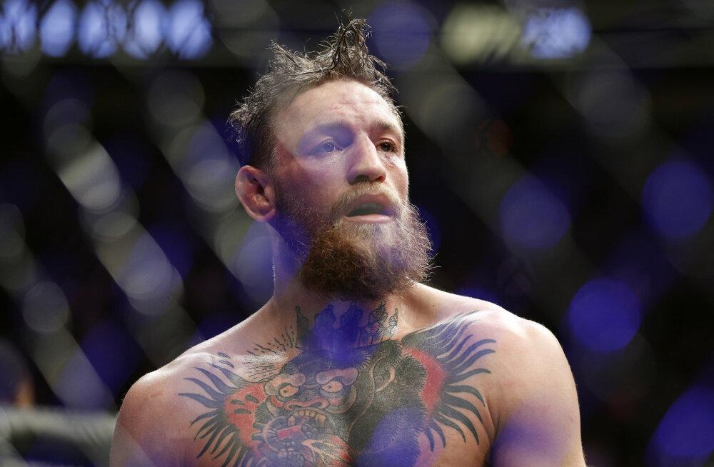 UFC määras Conor McGregorile meditsiinilise võistluspausi