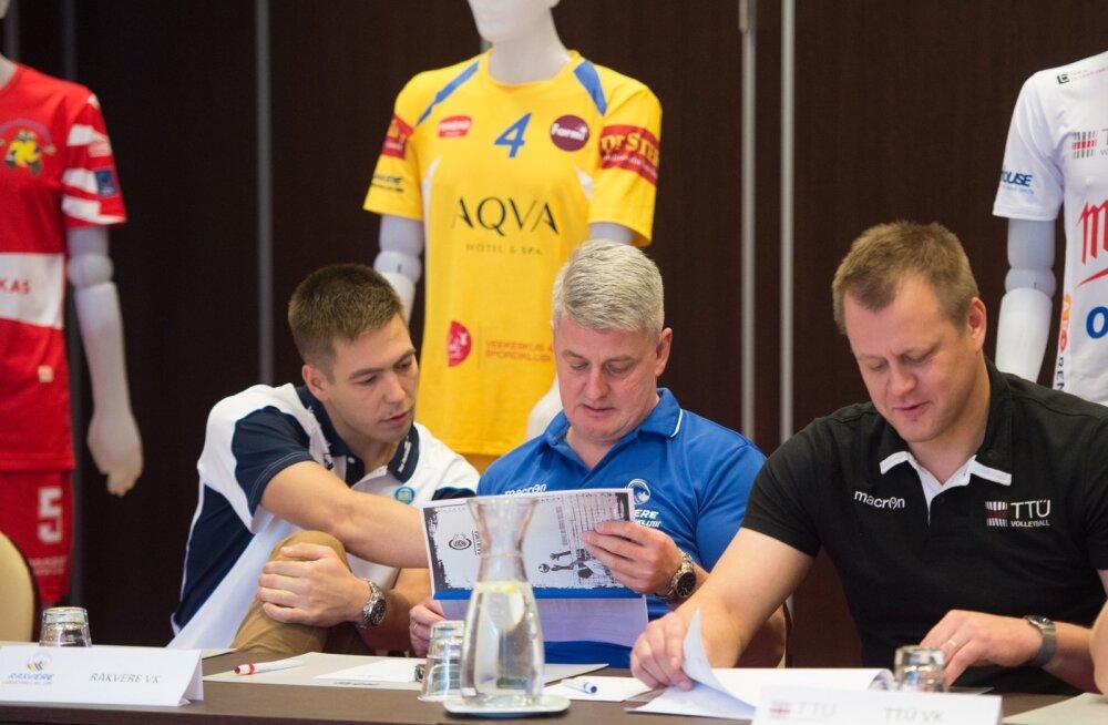 Võrkpalli Saja Liiga hooajaeelne pressikonverents