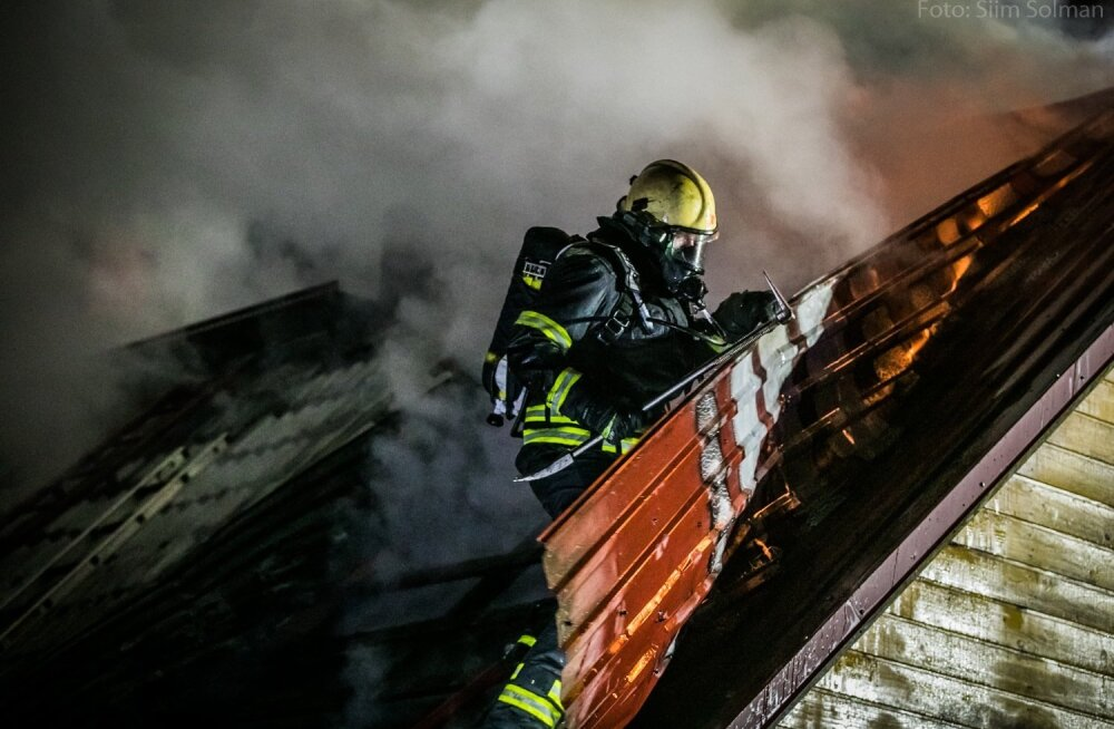 Tulekahju Rapla linnas