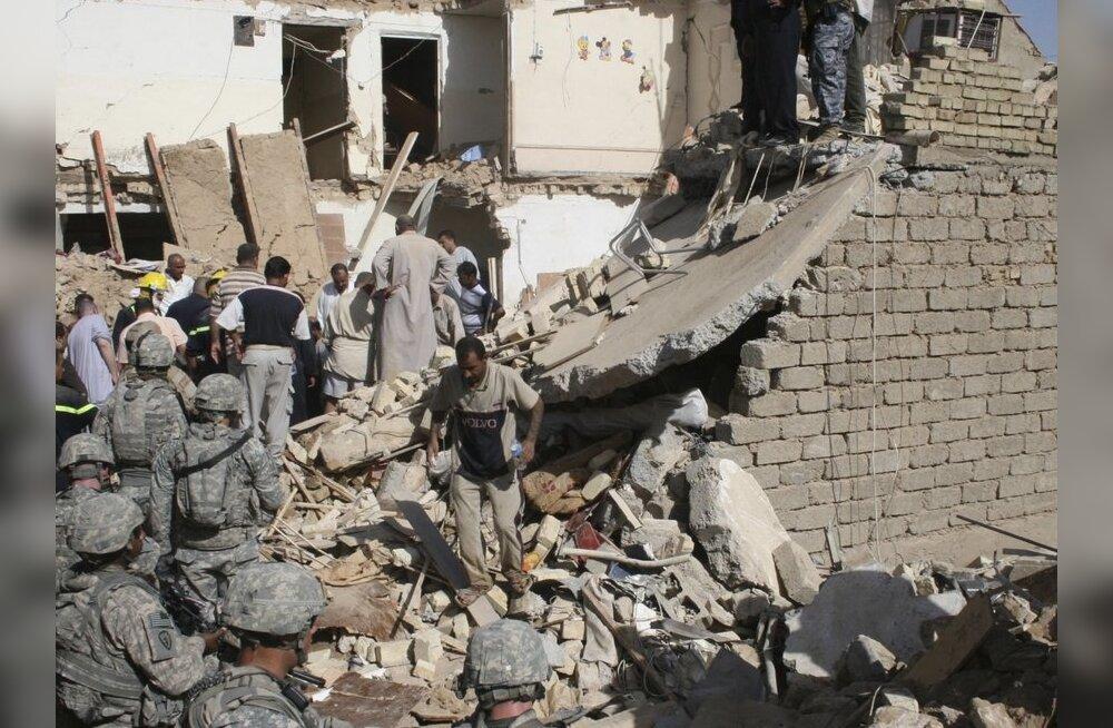 Iraagis hukkus enesetapurünnakus 50 inimest