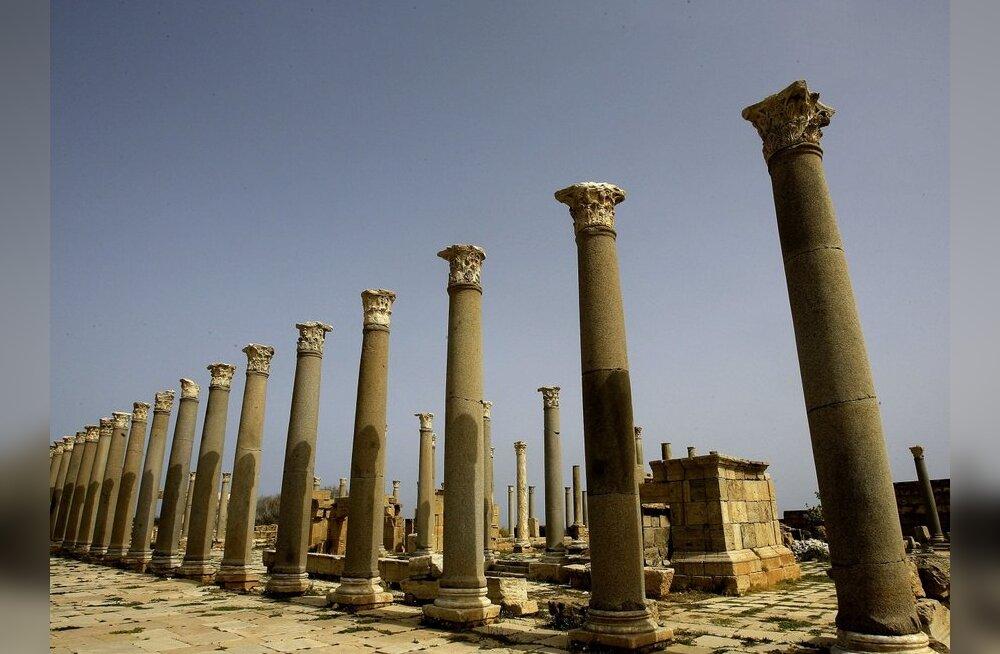 Vene õpetlane: Liibüas käib ajalooliste kultuuriväärtuste rüüstamine