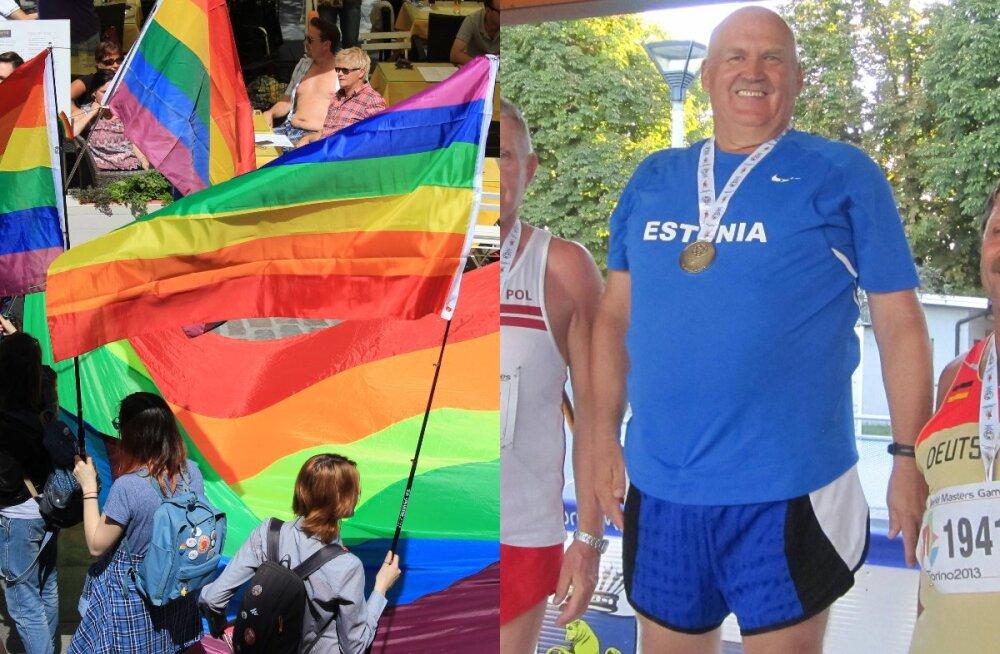 Küsimus ministrile ja võrdõigusvolinikule: miks toetab riik LGBT rongkäiku ja invasportlasi, aga väärikas eas kergejõustiklasi mitte?