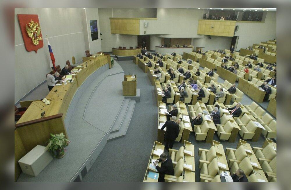 Venemaa riigiduuma valimisi läheb vaatlema viis riigikogulast.
