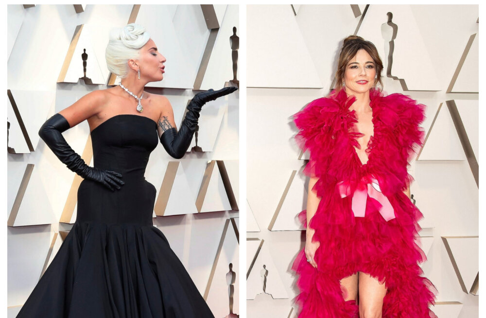 FOTOD | Roosa unelm ja tume salapära! Just need olid Oscarite kõige erilisemad kleidid