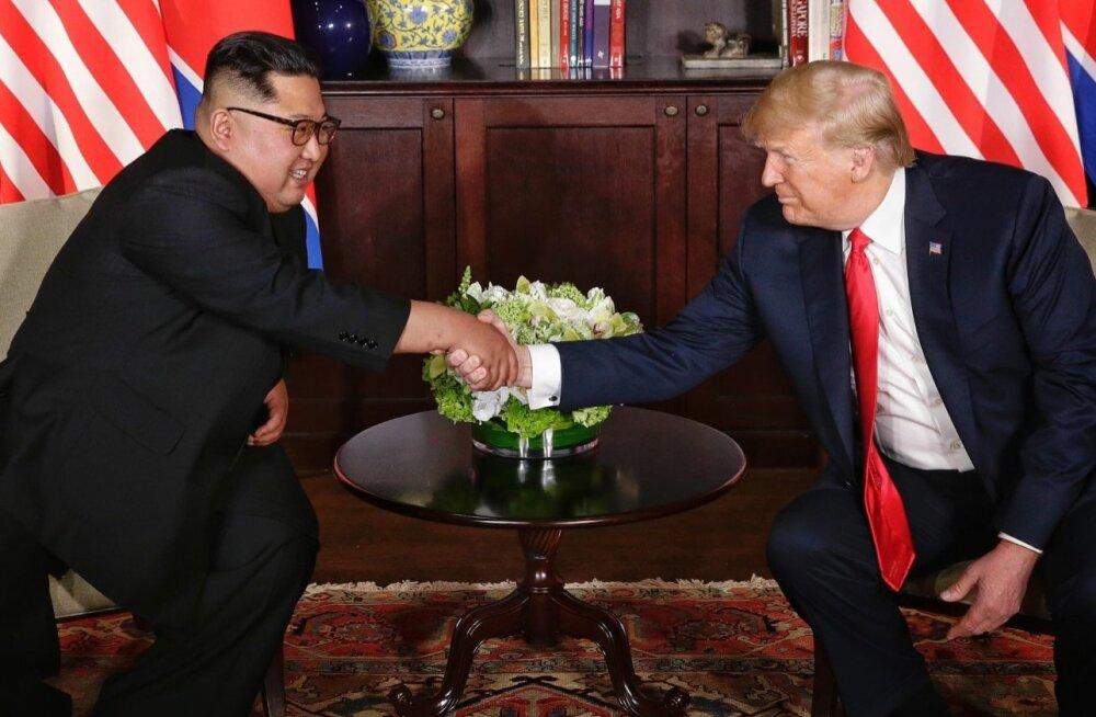 """Trump soovib asuda oma """"hea sõbra"""" Kim Jong-uni soove täitma"""